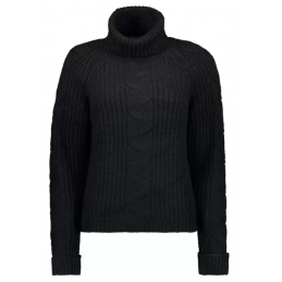 DAISY L/S ROLLNECK PULLOVER
